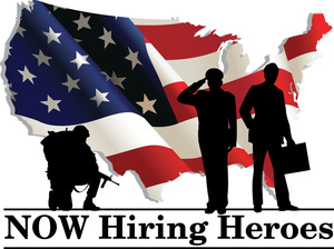 Are you looking to hire a veteran, recruit a team of veterans or if you're a veteran and you want to get hired by a great company, contact NOW Hiring Heroes, Inc